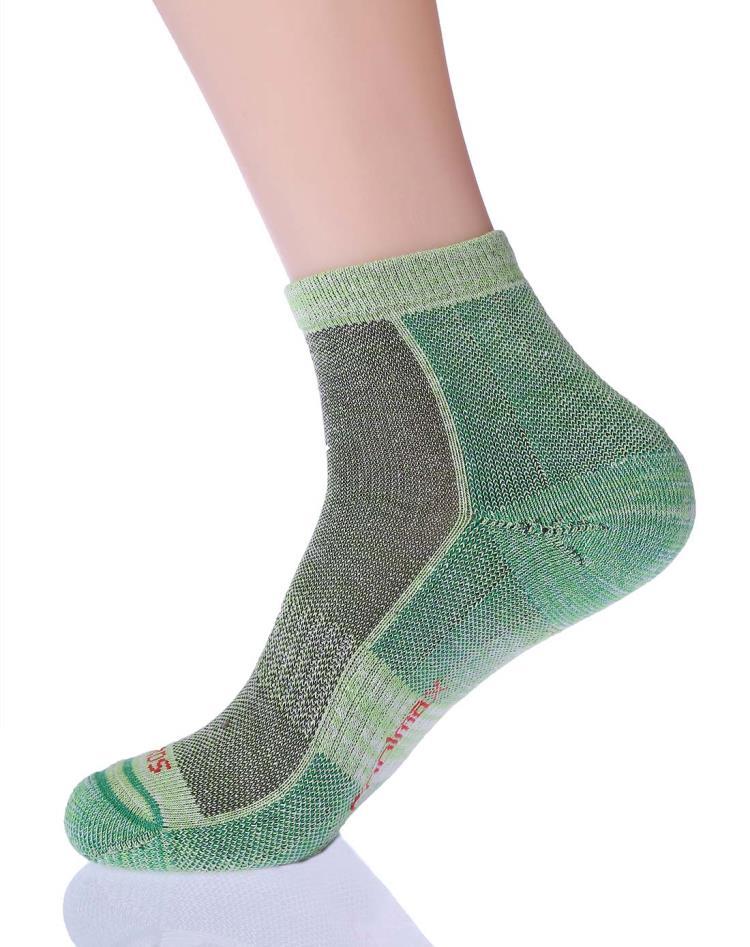 塞沃斯 女款麻綠色中筒襪